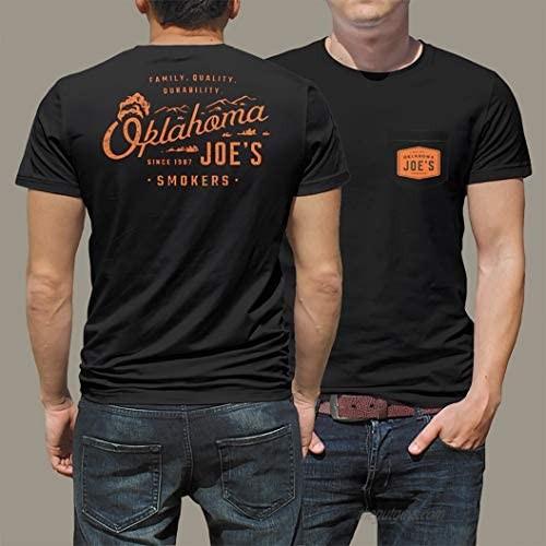 Oklahoma Joe's 5165688W20 Black Pocket T-Shirt  Size XX-Large